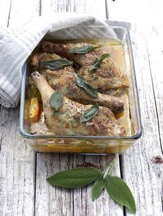 [kjøkkentjeneste]: Kyllinglår med salvie- og sitronsmør