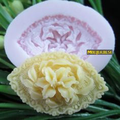 eye shaped flower Arylic Resin Flower silicone mold