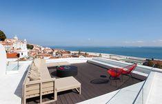 Terrace & Wine bar. Memmo Alfama, Lisbon. © Memmo Alfama