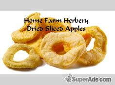 Dried sliced apples, Order Now, FREE shipping in New York NY - Free New York SuperAds