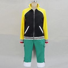 Anime Hideyoshi Costume Tokyo Ghoul Hideyoshi Cosplay Outfit For Male Adult & Kids.Package includes: Pants, Coat.