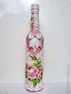Romantic Bottle with Egg Skin DIY Tutorial / Hip Home Making.com