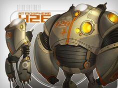 Bad-ass Robot from CreatureBox