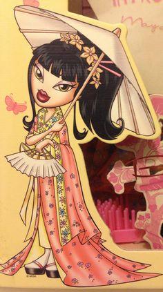 Bratz World! Collectors Edition May Lin Bratz Characters, Cute Cartoon Characters, Bratz Girls, Brat Doll, Iphone Wallpaper Glitter, Hip Hop Art, High Art, Photo Wall Collage, Monster High Dolls