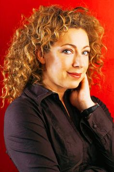 Casting Call: Alex Kingston as Captain Sophie Kildare of the Aethership Fate's Gambit