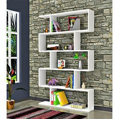 Comfy Home Volans Kitaplık - Beyaz