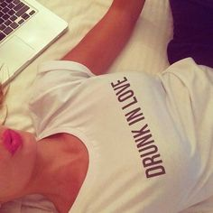 drunk in love. emails in bed. www.idownm.com