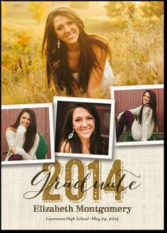 Southern Style: Umber #Graduation #Announcements #2014 | TinyPrints.com