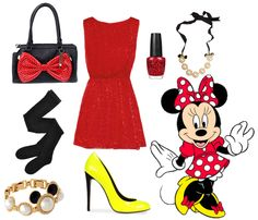 Minnie Mouse. Halloween costume