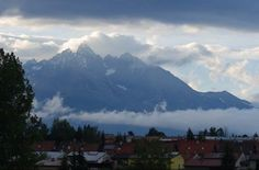 After the cloud cleared, we could finally see the stunning High Tatras Mountains High Tatras, Istanbul Airport, Abseiling, Carpathian Mountains, River I, Adventure Activities, Adventure Awaits, World Heritage Sites, Aerial View