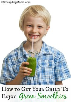 How to Get Your Child to Enjoy Green Smoothies (the secret is essential oils).