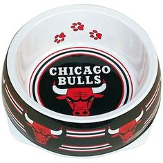 Chicago Bulls Large Dog Bowl  #FanaticsWishList  @Fanatics ®