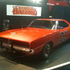 The General Lee  THIS IS SO ME!! I WANNA PULL A DUKES OF HAZARD!!!!