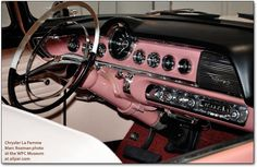 The Dodge La Femme Car, 1955, Came With A Built-In Pink Purse and Matching Raincoat (made from 1955-56)