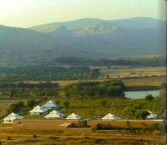Rajasthan Luxury Safari Camp, Aman-i-Khas Picture Tour - picture tour