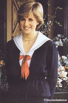 March 27, 1981: Lady Diana Spencer in Buckingham Palace after the queen gave her formal consent to the couple for marriage.