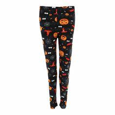 Women's Plus Size Halloween Print Leggings by Lovely Boutique | Plus Size Pajamas at BeltOutlet.com Plus Size Pajamas, Plus Size Halloween, Halloween Prints, Plus Size Fashion For Women, Boutique, Printed Leggings, Pajama Pants, Shopping, Tops