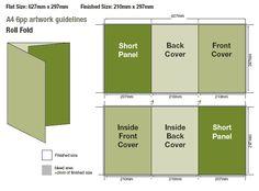 Free PSD InDesign AI Brochure Templates Brochures Corporate - 6 panel brochure template
