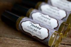 Woodsmoke and Vanilla Perfume Oil -  Firewood, Fir Needle, Vanilla. $9.00, via Etsy.
