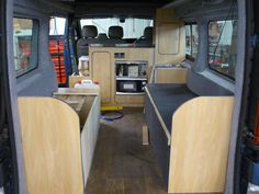 banquette seating vw camper - Google Search