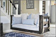 Crib Mattress Porch Swing