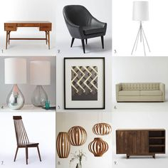 West Elm Mid Century Mod - Inspired Furniture