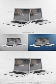 Collection 5 - Mock Up 5 - MacBook Air
