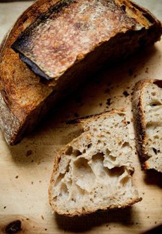 Chad Robertson and Tartine Bakery. Recipe for Tartine's Country Bread featured on The New York Times. #bread