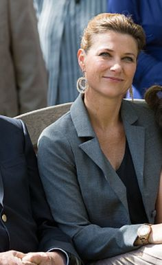 Princess Martha Louise of Norway attend the unveiling of Norwegian Trekking Association gift for The Queen of Norway 80th birthday on July 04, 2017 in Oslo, Norway