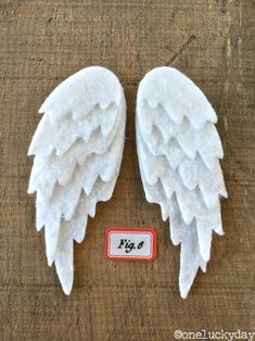 One Lucky Day: Christmas Inspiration: Feathered Wings