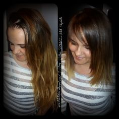 Before After Hair HairStyle by Sebők Izabella