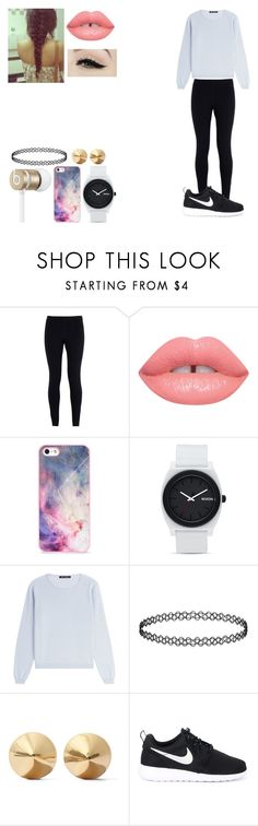 """""""Untitled 64"""" by galaxy-cat19 ❤ liked on Polyvore featuring NIKE, Anatomy Of, Beats by Dr. Dre, BlissfulCASE, Nixon, IRIS VON ARNIM and Eddie Borgo"""