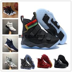 huge discount 22848 bfe1a Wholesale cheap brand -lebron 11 court general basketball shoes soldiers 11  magic buckle james 11 897644-101 size 7-12 +box from Chinese sports socks  ...