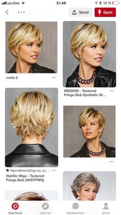 Short Shag Hairstyles, Bob Hairstyles For Fine Hair, Short Hairstyles For Women, Easy Hairstyles, Short Blonde Haircuts, Halloween Hairstyles, Hairstyle Short, School Hairstyles, Prom Hairstyles