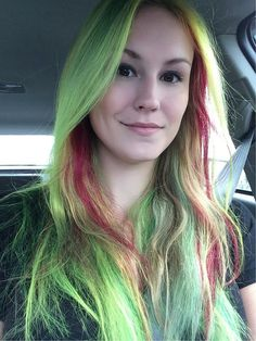 28 Real Girls Prove Anyone Can Rock Rainbow-Bright Hair: These days, it seems like we can't go 24 hours without discovering that another celebrity has dyed her locks a new, vibrant hue.