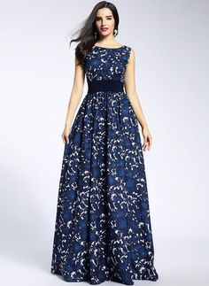 2020 Women Fashion two piece floral prom dresses cotton floral maxi dress Floral Prom Dresses, Floral Maxi Dress, Cute Dresses, Vintage Dresses, Beautiful Dresses, Summer Dresses, Formal Dresses, Floral Lace, Floryday Dresses