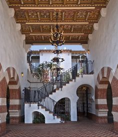 View of El Andaluz by Jeff Shelton Architect