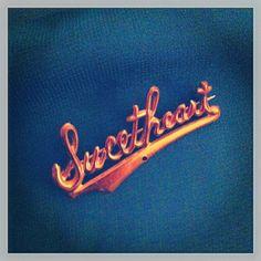 Vintage Sweetheart brooch