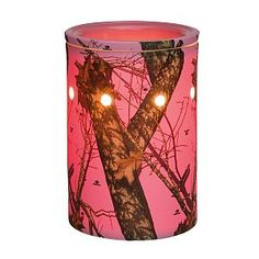 Pink Scentsy Mossy Oak Camo Warmer. Available september 1 2014. Love this new catalog!