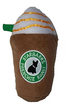 Starbarks Frenchie Roast is the perfect toy if Pumpkin is a latte lover.