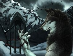 Werewolf By Gothic Arches Photo:  This Photo was uploaded by Violet-Dream_2008. Find other Werewolf By Gothic Arches pictures and photos or upload your o...