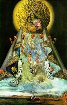 Dalí, Madona de Guadalupe.