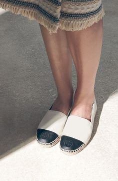 28991832f87f5f Tory Burch Colorblock Espadrille Flat (Women) Espadrilles Outfit