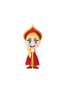 Russian Girl Vector Image #people #world http://www.vectorvice.com/people-world-vector