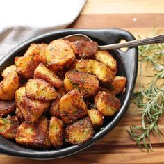 The Best Roast Potatoes Ever  @thefoodlab