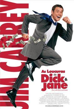 "Dick y Jane, ladrones de risa ""Fun with Dick and Jane"" de Dean Parisot - Alec Baldwin, Jim Carrey, Tea Leoni, Hd Movies, Movies And Tv Shows, Movie Tv, Comedy Movies, Movie List, Movies Online"
