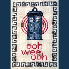 Doctor Who Cross-Stitch Patterns!
