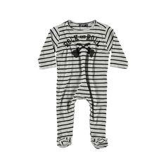 Yporque - Rock Baby Striped #Jumpsuit #kidsfashion http://www.fyglia.com/