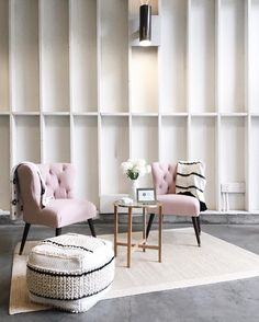 """1,266 Likes, 36 Comments - Anne Sage (@citysage) on Instagram: """"I've been SO worried that pink upholstery might stop being cool in 2017 because I love it so...but…"""""""