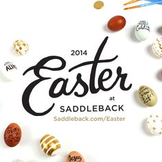 Join us at Saddleback Church this Easter. www.saddleback.com/easter #Saddleback #SaddlebackChurch #Easter